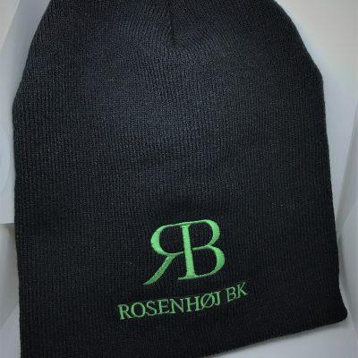 Rosenhøj hue med logo